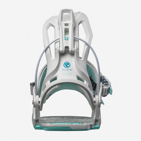 Flow NX2-CX Speed Entry Snowboard Binding shown in black colour, side view