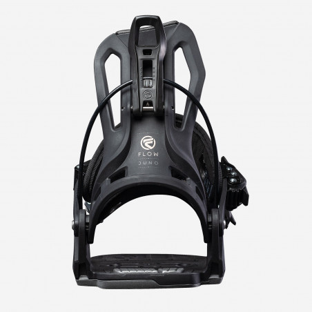 Flow NX2-CX Speed Entry Snowboard Binding shown in black colour, above view