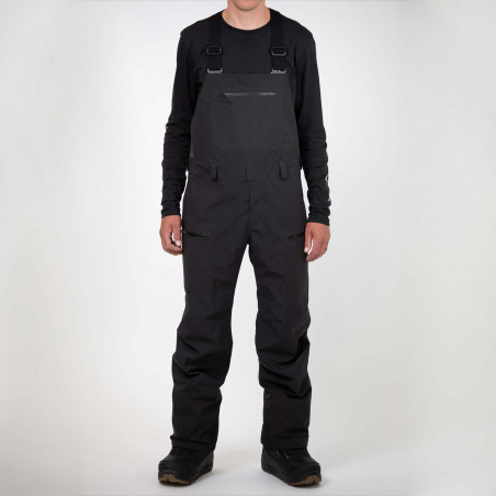Flow Micron Youth Speed Entry Snowboard Binding, shown in black color, 3/4 view
